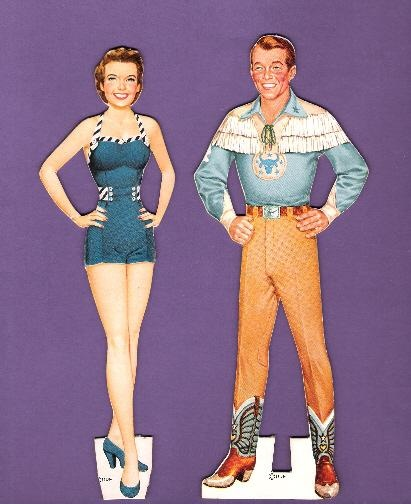 ROY ROGERS AND DALE EVANS 2* The International Paper Doll Society by Arielle Gabriel for all paper doll and paper toy lovers. Mattel, DIsney, Betsy McCall, etc. Join me at #ArtrA, #QuanYin5 Linked In QuanYin5 YouTube QuanYin5!