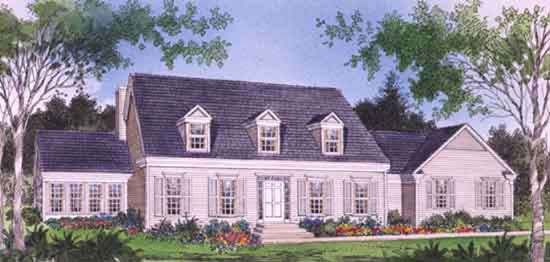 House Plan The Pembroke by Donald A. Gardner Architects