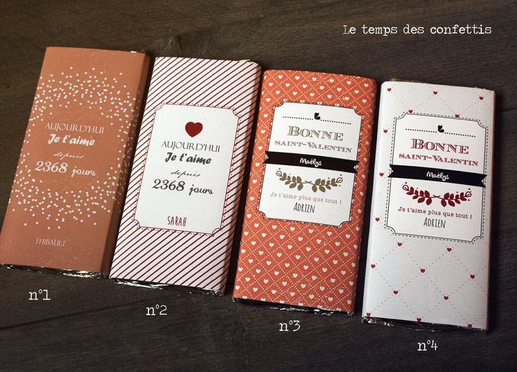 Bien-aimé Tablette Chocolat Personnalisé OD19 | Jornalagora MR46