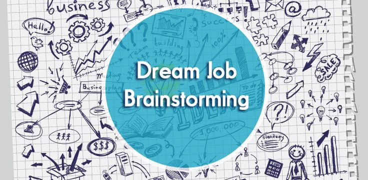 Brainstorm Your Way to Your Dream Job