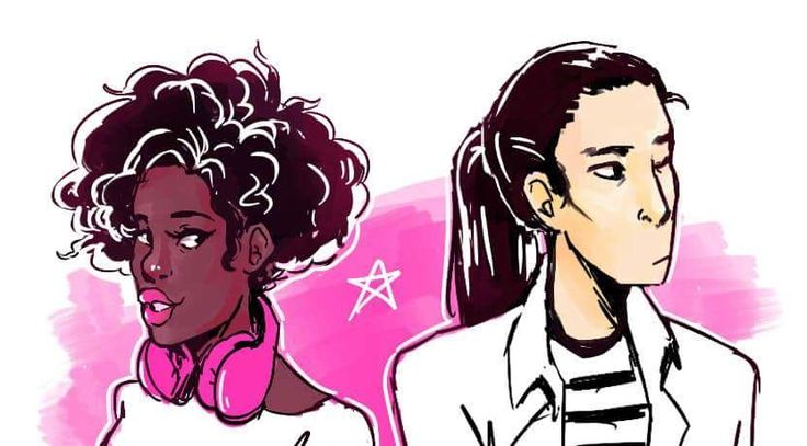 Natasha Kingsley and Daniel Bae  from The Sun is Also a Star by NICOLA YOON