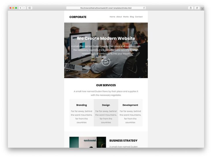 Top 30 Free & Paid MailChimp Email Templates 2020