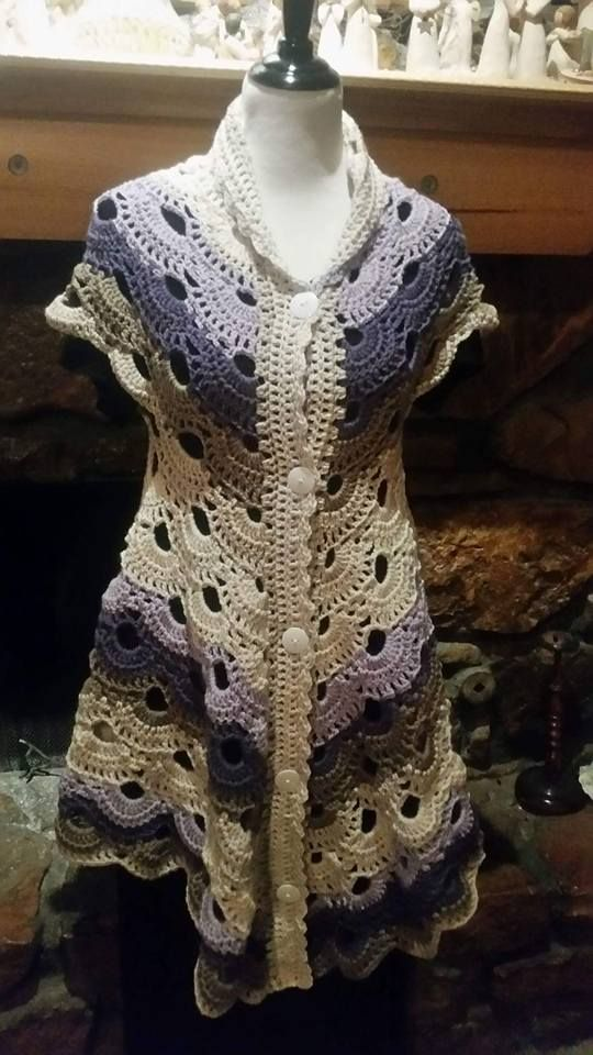 Virus pattern for a sweater