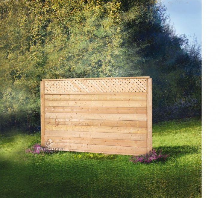 17 meilleures id es propos de cloture de treillis sur pinterest cl tures portes et tonnelles - Cloture de jardin facile a poser ...