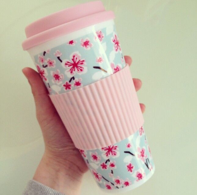 Travel mug ♡ you can get them from primark or new look