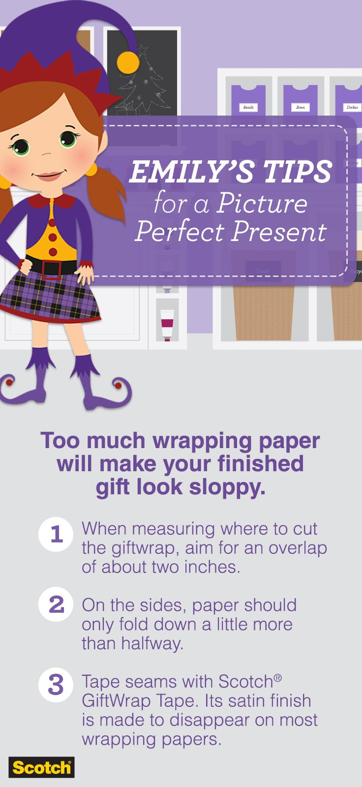 Wrapping tips for gorgeous gifts every time brit co - Wrapping A Perfect Present Means Being Resourceful With Wrapping Paper And Keeping The Seams On Your