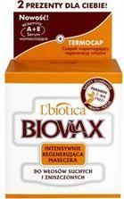 BIOVAX maseczka intensywnie regenerująca do włosów suchych i zniszczonych 250 g…
