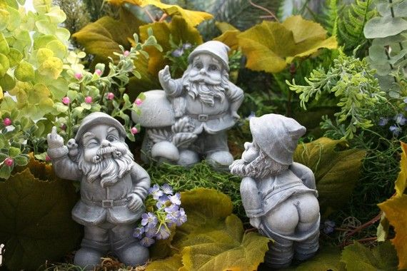 Gnome In Garden: 343 Best Images About Gnomies On Pinterest