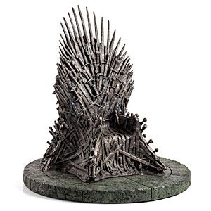 """Don't have $30,000 for your own Iron Throne? This 14"""" replica may be a good compromise for your life savings"""
