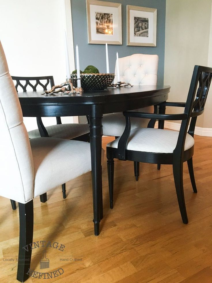 best 25 paint dining tables ideas on pinterest chalk paint dining table chalk paint table. Black Bedroom Furniture Sets. Home Design Ideas