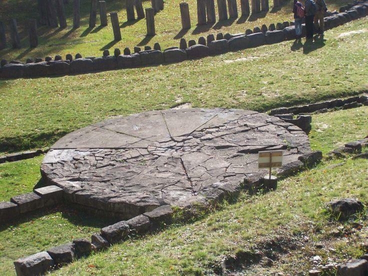 Sarmizegetusa Regia (ancient Dacia). The Andesite Sun.