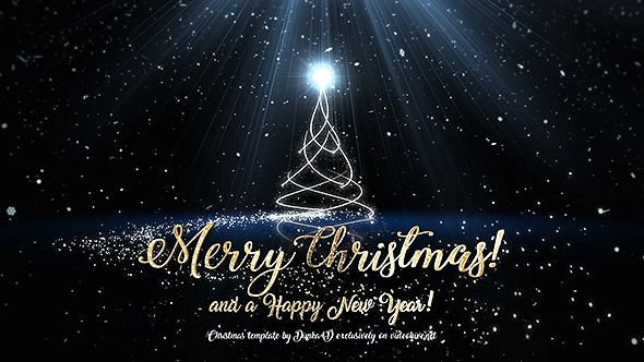 Christmas Happy New Year Greetings Merry Christmas And Happy New Year Christmas Gif