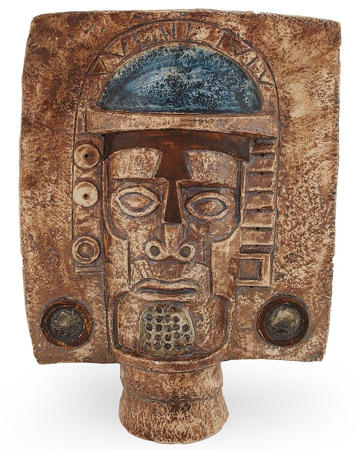 TROIKA POTTERY  AZTEC STONEWARE