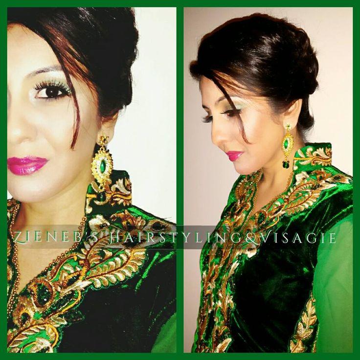 Make-up en haar opgemaakt voor deze prachtige  en zeer lieve Hindoestaans-Surinaamse dame