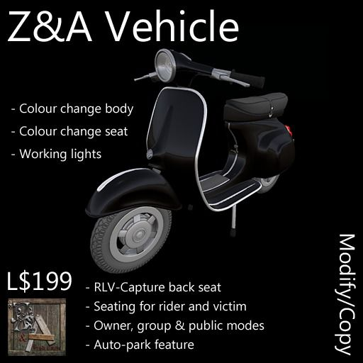 Z and A Vehicle (Scooter)