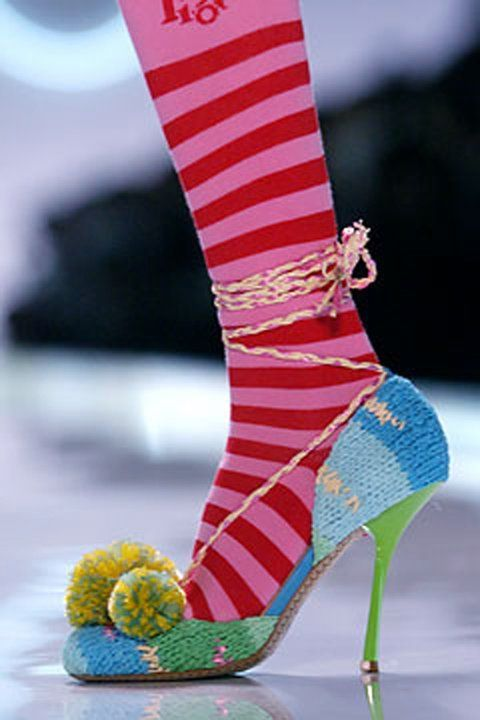 Knitted shoes.. LKnits.com