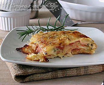 Parmigiana di patate al forno, ricetta facile e golosissima