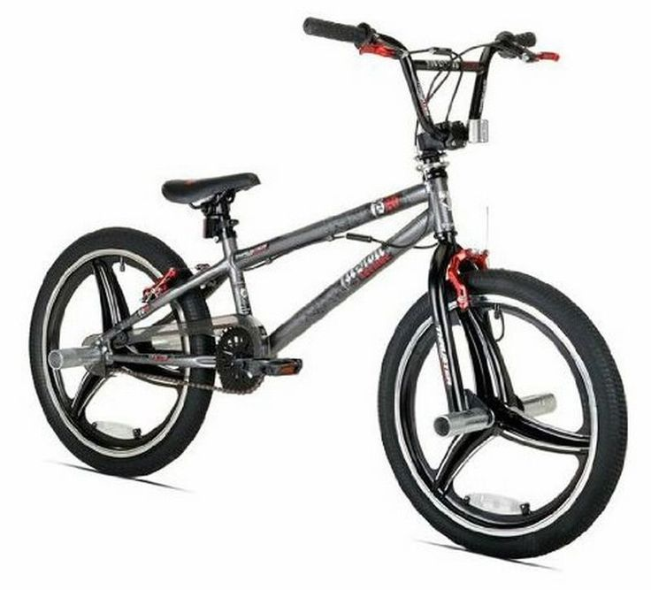 "BMX 20""Thruster Fusion Boys'Bicycle Cross Brace Grey Gift Idea Free  Shipping ! #KentInternationalInc"