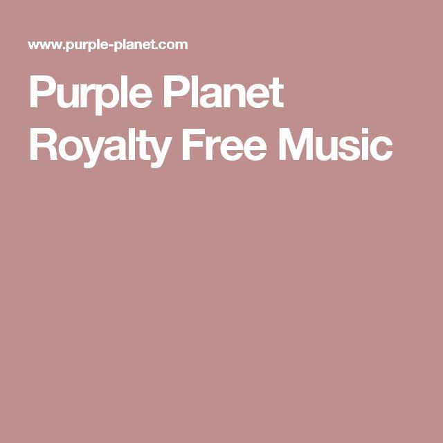 Purple Planet Royalty Free Music