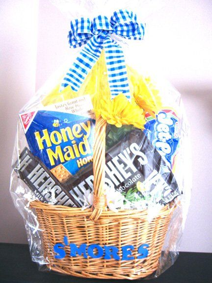 S'mores/Camp Fire gift basket
