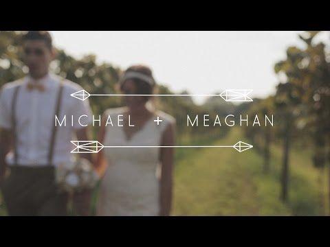 Michael + Meaghan // Hidden Vineyard Wedding Barn // Christian wedding video