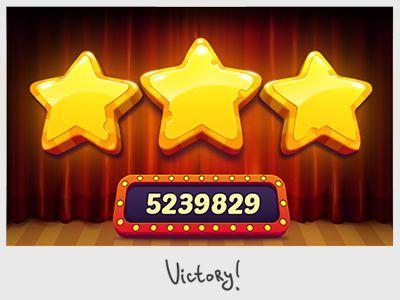 Victory stars