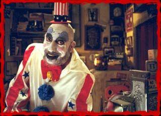 Sid Haig as Captain Spaulding in Lions Gate Films' House of 1000 Corpses - 2003