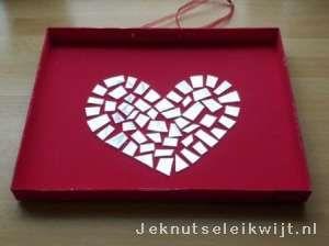 Valentijn mozaiek hart