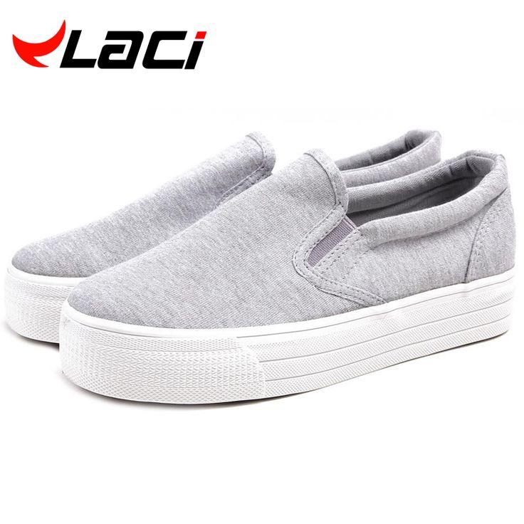 Goedkope 2016 Dames Canvas schoenen Plateauzolen Flats Slip Solid Vrouw Leisure ademende Schoen Vrouwelijke Mode Casual Schoenen klimplanten, koop Kwaliteit vrouwen casual schoenen rechtstreeks van Leveranciers van China:     ONS GROOTTE 5.5 = CHINA SIZE 225/35 = INNER LENGTE (22.3-22.5 CM)    ONS GROOTTE 6 = CHINA SIZE 23