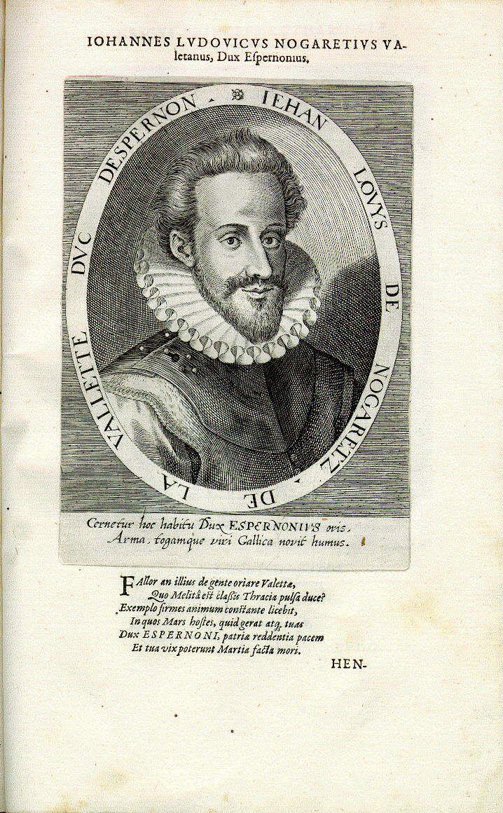 Jean Louis de Nogaret de la Valette, Herzog von Epernon (Espernon) (1554-1642), Admiral