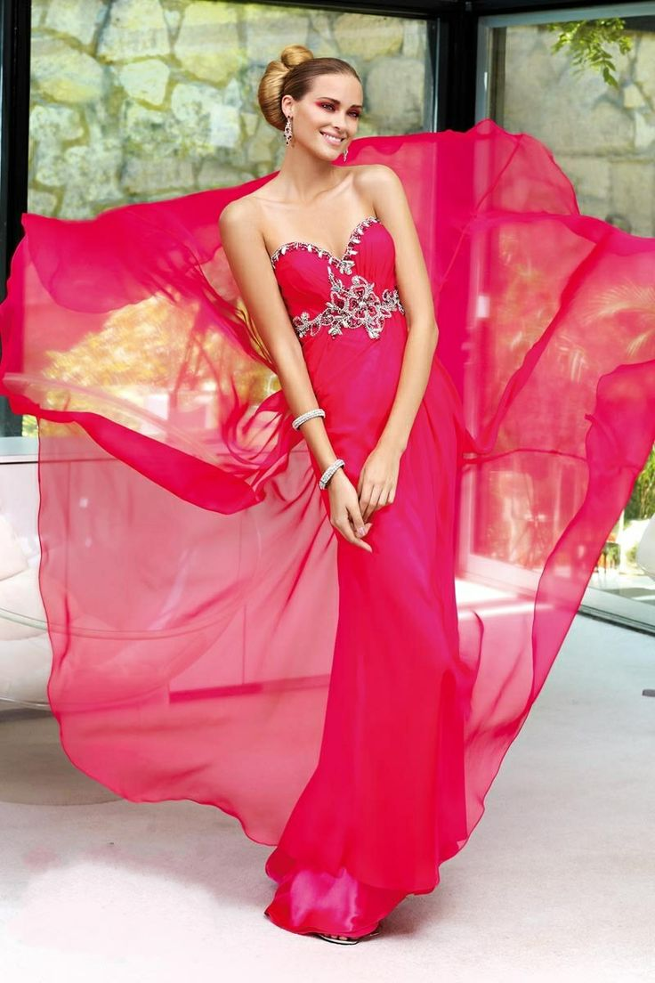 Mejores 679 imágenes de Evening Dresses en Pinterest | Vestidos ...