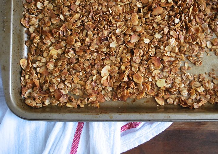 Granola template - Making granola at home (without a recipe!) is simple and you can experiment to find the perfect blend of fruits, nuts, and spices.