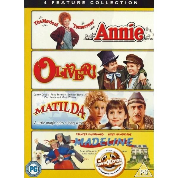 http://ift.tt/2dNUwca | Annie / Oliver / Matilda / Madeline - 4 Boxset DVD | #Movies #film #trailers #blu-ray #dvd #tv #Comedy #Action #Adventure #Classics online movies watch movies  tv shows Science Fiction Kids & Family Mystery Thrillers #Romance film review movie reviews movies reviews