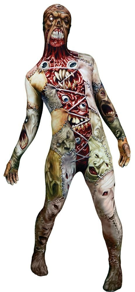 morph facelift costume adult large halloween