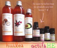 les ingrédients du bain d'huile spécial pousse des cheveux