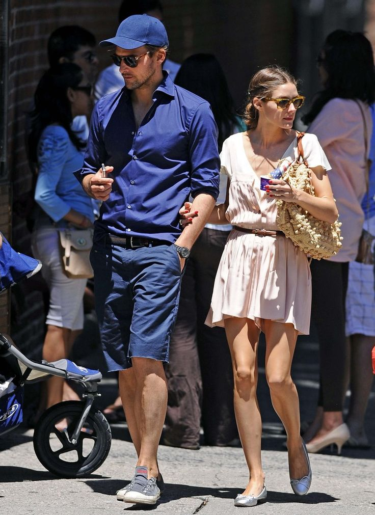 Olivia Palermo - Olivia Palermo And Beau Johannes Huebl Grab An After Lunch Gelato