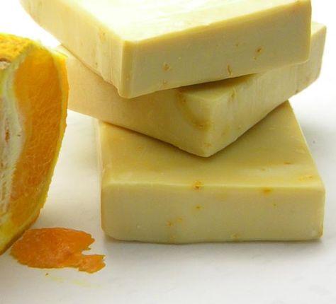 Συνταγή για σαπούνι πορτοκαλιού