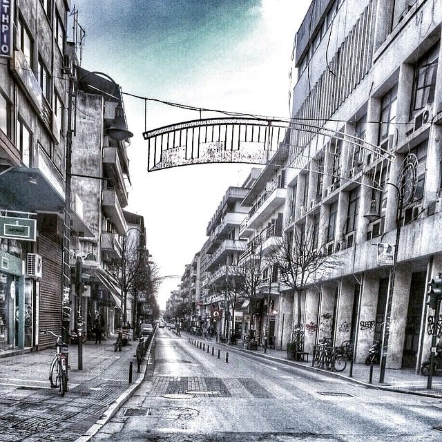 """#city #citystreets #buildings #citylife #lifeinthecity #streetphotography #streetsoflarissa #larissa #ig_greece #larissacity #snapseed #vsco #ludwig…"""