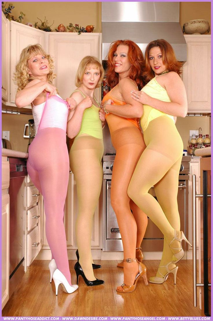 Chicks with dicks in pantyhose