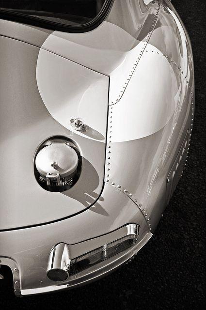 low drag Jaguar E-Type Coupe . .