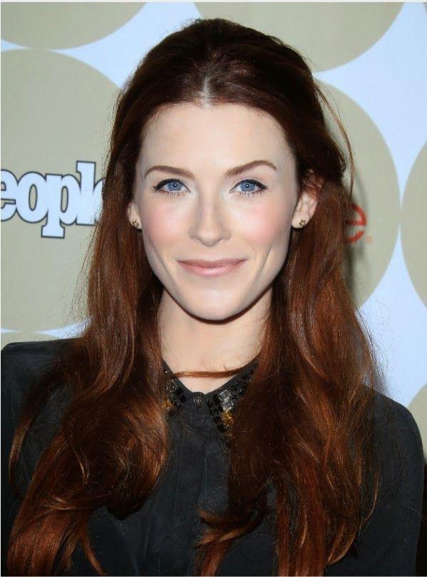 Bridget Regan Natural Hair Color