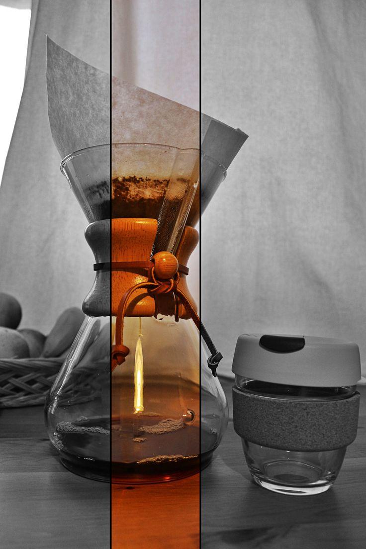 Make :coffee: with #Chemex # by #KavalaCoffee.