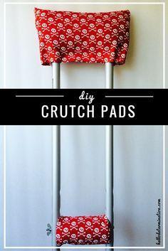 DIY CRUTCH PADS