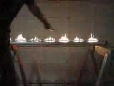 Cool Physics experiment:RUBENS TUBE flames show the ...