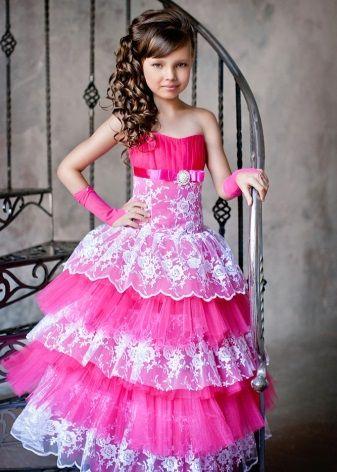Нарядные платья для девочек 2016 (67 фото): красивые, для подростков, пышные