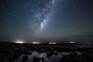 Wairarapa under the Milky Way