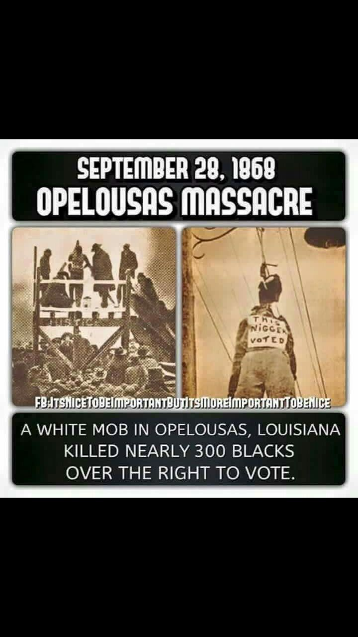 IN CASE SOME OF YOU FORGOT ABOUT THE IMPORTANCE OF WHAT PEOPLE HAVE FOUGHT FOR AND WHY IT IS SO IMPORTANT TO VOTE !!!