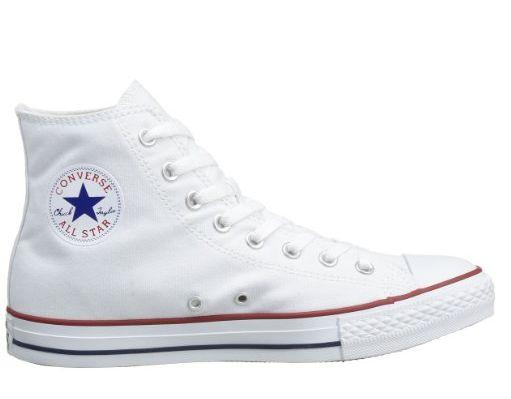 CONVERSE All Star bianche alte