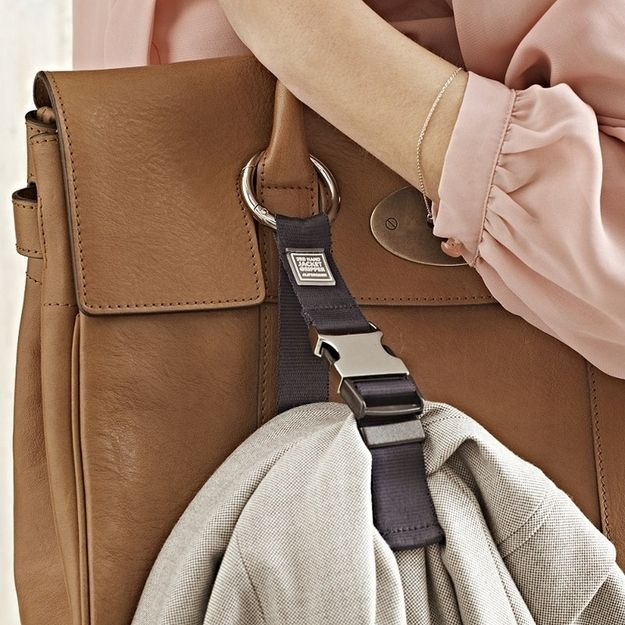 Jacket Gripper, $30 | 21 Travel Accessories That Will Make Your Life So Much Easier