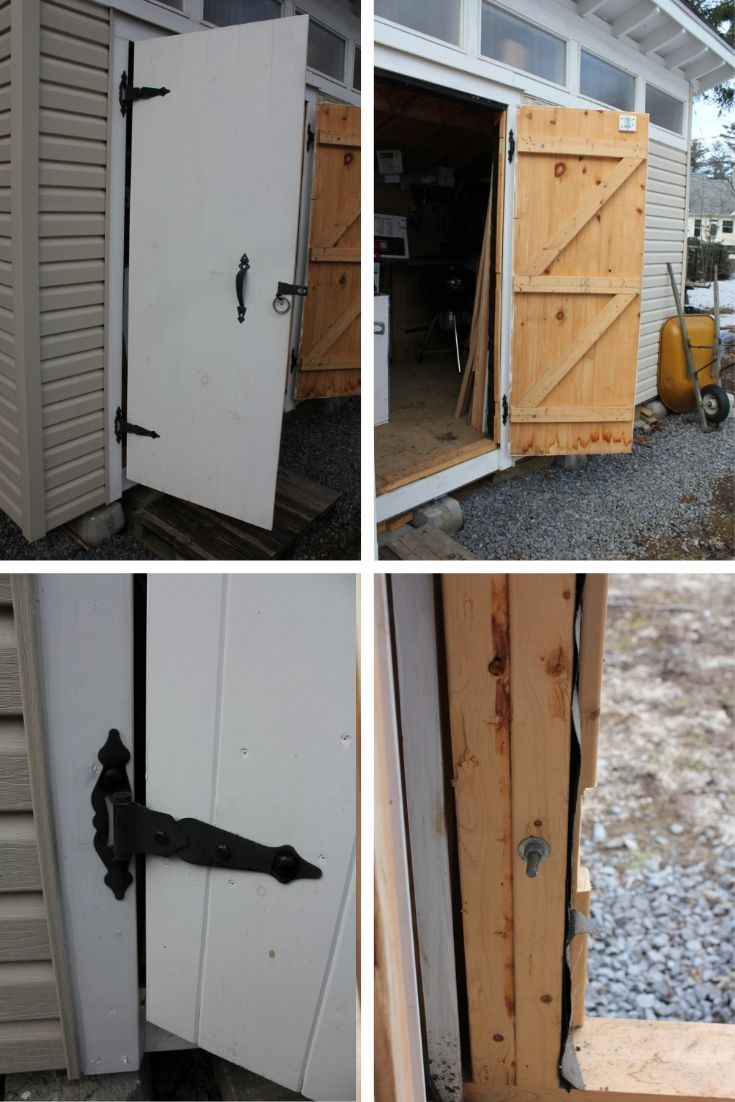 How To Build Double Shed Doors Step By Step Guide Shed Doors